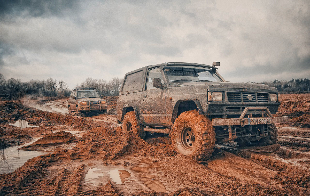Getting Muddy With Our Off Road Recovery Services